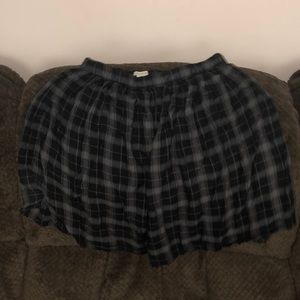 Plaid skirt size small
